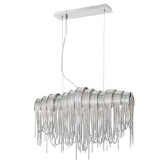 Eurofase Avenue Collection 5-Light Nickel Chandelier-26338-019 - The Home Depot