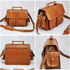 Camera Messenger Bag DSLR Carry Leather Case by Leatherhood
