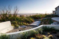 seagem23 Beach garden Beach garden design Coastal garden design Coastal maritime seaside contemporary garden Designer: Jo Thompson Sea Gem, Camber Sands, Kent Marcus Harpur