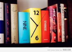 Creative Clock for my library of course.