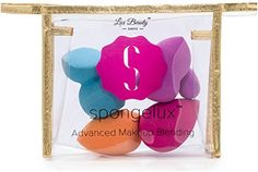 Makeup Blending Sponges By Lux Beauty- 5 Amazing Sponges In California Gold Cosmetic Bag - Professional Result- Flawless Airbrushed Natural Well Blended Look- For All Skin Types & All Makeup Products Lux Beauty http://www.amazon.com/dp/B01B8JJJ8U/ref=cm_sw_r_pi_dp_l3F6wb18H0ZH4