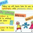 Teach singular possessive nouns and plural possessive nouns using this visually interactive powerpoint with your students. This powerpoint follows ...