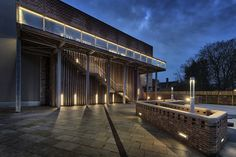 York Art Gallery's rear entrance with balcony and outdoor space © Giles Rocholl York Attractions, Visit York, York Art Gallery, York Museum, News Media, Ceramic Art, Balcony, Entrance, Space