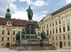 Monument to Emperor Franz I of Austria, Kaiser Franz Denkmal by Pompeo Marchesi, 1842 - in the Innerer Burghof in the Hofburg imperial palace. Travel Around Europe, Imperial Palace, Austria Travel, Famous Places, Vienna Austria, Emperor, Statue Of Liberty, Travel Photos, Fine Art America