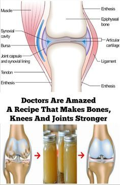 Doctors Are Amazed A Recipe That Makes Bones, Knees And Joints Stronger