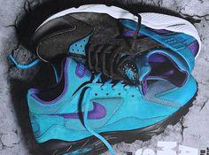 Size? x Nike Air Max 93 & Air Huarache First Look | KicksOnFire.com