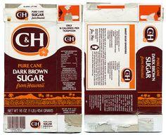 C&H Pure Cane Dark Brown Sugar Box by Neato Coolville, via Flickr