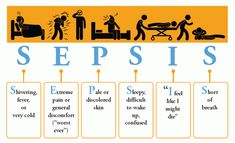 The CDC has this mnemonic for suspecting sepsis, if a person complains of the following symptoms: