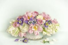 vintage spring bouquet - null