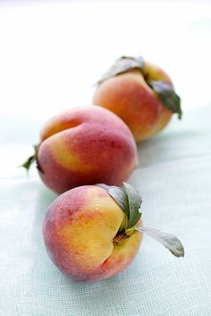 Kitchen food styling :: peach...