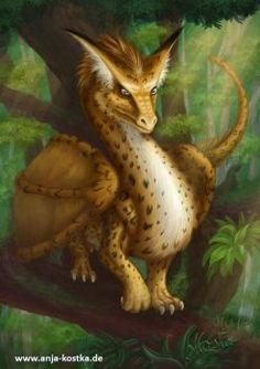 Leopardendrache by ArkaEdri