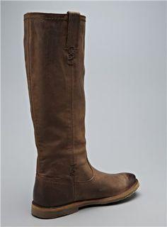 FRYE Celia X Stitch Leather Boot