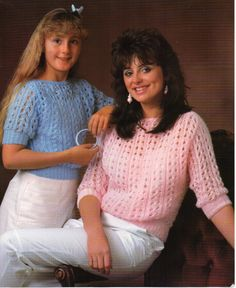 womens lacy sweater knitting pattern 26-38 inches DK womens
