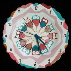 Tasarım duvar saati  #handmade #ceramik #tasarım #design #nüwart #nüwasanat #elyapımı #gift #aile #hediye #seramik #saat #duvarsaati