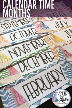 Use this watercolor nautical decor pack to transform your calendar display. Included are days of the week, months, schedule cards and today, tomorrow, yesterday cards. Classroom Calendar, Primary Classroom, Elementary Teacher, School Classroom, Classroom Decor, Elementary Education, Upper Elementary, Create A Calendar, Calendar Time