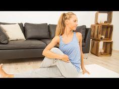 ▶ Yoga Anfänger Workout: Übungen für eine bessere Verdauung ...