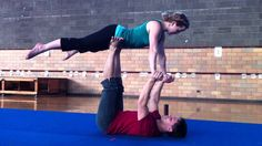 Orville and Natalie's Beginners Partner Acrobatics Workshop Flow