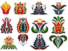 Hungarian Embroidery Patterns Picture result for hungarian folk art Hungarian Embroidery, Folk Embroidery, Learn Embroidery, Chain Stitch Embroidery, Embroidery Stitches, Embroidery Patterns, Bordado Popular, Stitch Head, Russian Folk Art