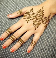 Mehndi Design Offline is an app which will give you more than 300 mehndi designs. - Mehndi Designs and Styles - Henna Designs Hand Henna Hand Designs, Indian Henna Designs, Mehndi Designs For Beginners, Wedding Mehndi Designs, Mehandi Designs, Rangoli Designs, Tattoo Designs, Simple Arabic Designs, Simple Mehndi Designs