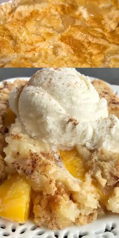 Peach cobbler dump cake is an easy 4 ingredient dessert that takes just minutes to prepare. French vanilla cake mix, canned peaches, butter, and cinnamon. Gluten Free Peach Cobbler, Peach Cobbler Dump Cake, Easy Peach Cobbler Recipe With Cake Mix, Peach Dump Cakes, Simple Peach Cobbler, Canned Peach Cobbler Recipe, Best Peach Cobbler, Homemade Peach Cobbler, Fruit Cobbler