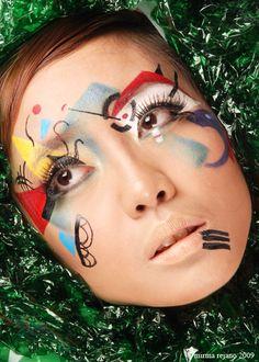 Kadinsky Inspired Makeup