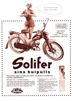 Solifer.-mopo Moped Scooter, Brochures, Motorbikes, Capri, Motorcycle, Ads, Motorcycles, Motorcycles, Choppers