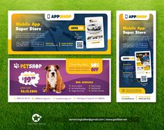 Professional Billboard Roll-Up Templates by grafilker - 97138 ...