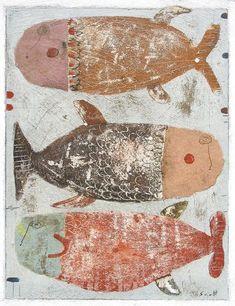"Scott Bergey, Canadian, b. 1967. ""Fish again."""