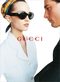 Phoebe O'Brien by Mario Testino for Gucci, 1995 S/S - Spring Summer.