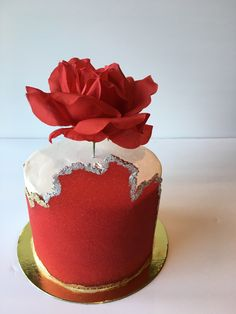 Fancy Cakes, Mini Cakes, Sheet Cakes Decorated, Sheet Cake Designs, Sugar Sheets, Red Cake, Couture Cakes, Cake Decorating Videos, Birthday Cakes For Men