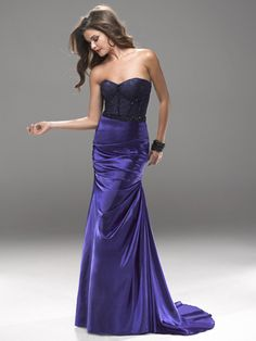 Bring on the drama! Flirt Prom 2013 Collection Style P2763