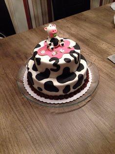 Kuh-Torte aus Fondant