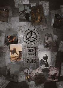 SCP Foundation Calendar 2016