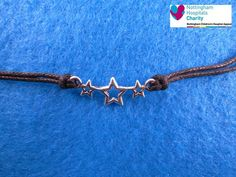 TFIOS Stars cord anklet / bracelet / necklace by FanFayreJewellery on Etsy