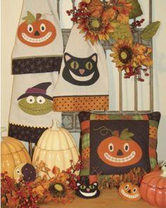 Halloween Pillow & Towels
