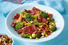 Express-Pfanne mit Steak und Brokkoli Rezept-F7341902