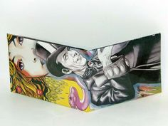 Comic Book Wallet// The Shade