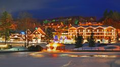 Festival of Lights at Chetola Resort, blowing rock