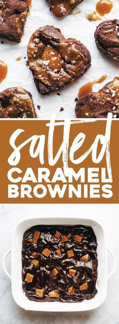 Caramel Brownies Salted Caramel Brownies ♡ thick, dense, fudgy brownies stuffed with homemade salted caramel.Salted Caramel Brownies ♡ thick, dense, fudgy brownies stuffed with homemade salted caramel. Salted Caramel Brownies, Fudgy Brownies, Desserts Caramel, Cheesecake Brownies, Pumpkin Cheesecake, Chocolate Desserts, Brownie Recipes, Cookie Recipes, Dessert Recipes