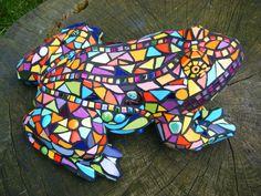 kikker mozaiek