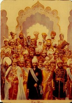 Group of Maharajas of India