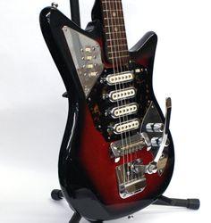 Rare Vintage Sixties 4 Pickup St. George Electric Guitar | Reverb