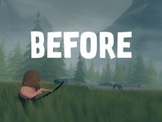 Before is a game about survival in a stone age world