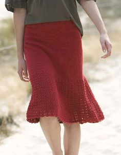 Ravelry: Provence Lace Border Skirt by Cecily Glowik MacDonald