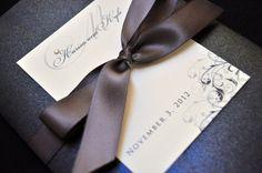 Pocketfold Wedding Invitations by JaxDesigns27 on Etsy, $6.25