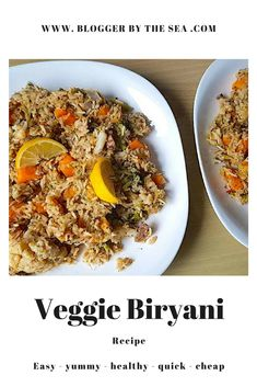 #veggie #biryani #recipe #foodblog #vegetarian #curry #recipes #foodblogger #meatless #meatfree #veggies #Indian #dinner #meal #main #foodbloggers #yummy #easy #quick