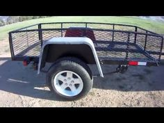 Build a DIY Utility Trailer for $300 - Part 1