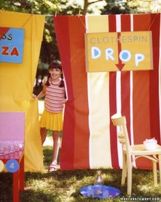 Games, balloons, and bright colors -- a carnival is just like a birthday party, but better! So why not invite kids to a carnival-themed party in your backyard or at a local park?
