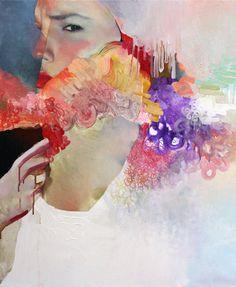 "Saatchi Online Artist: Winston Chmielinski; ""Color Me Quiet"""