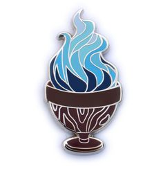 "Image of Harry Potter inspired, book four ""Goblet of Fire"" pin"